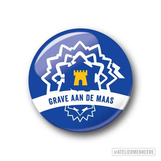 Grave aan de Maas Button