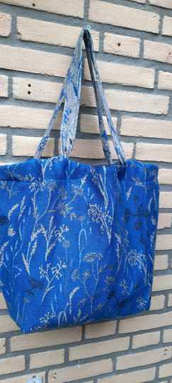 Stitchin' MomBag Terra Duo Silver Black Blue Seacell