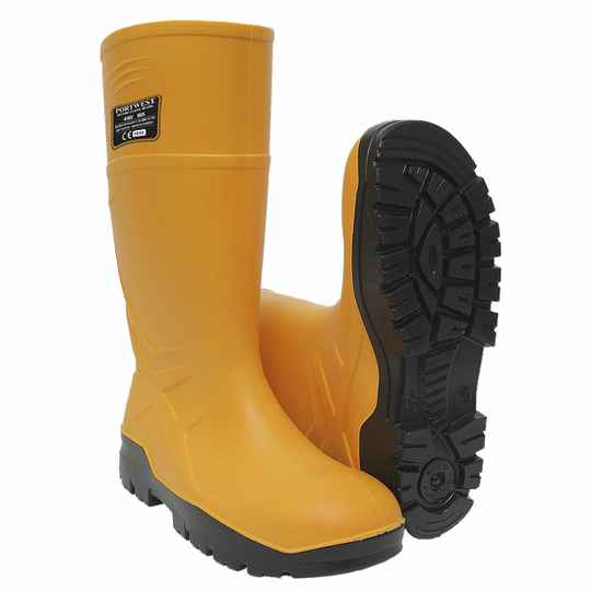 MO Waterdichte rubberlaars geel S5 Cold insulated FO