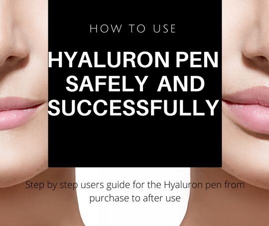 E-Book How to use the hyaluronpen safely and successfully?