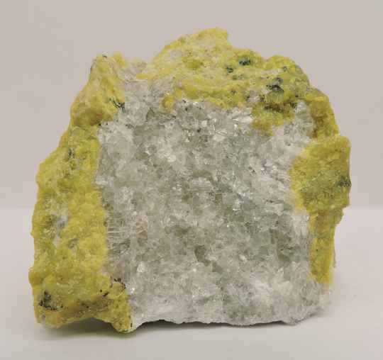 Lizardite and albite from Norway - miniature