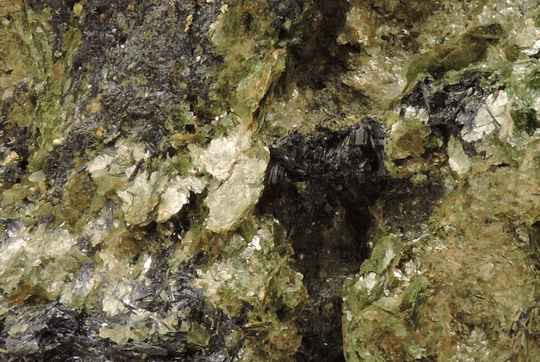 Glaucophane and fuchsite/phengite from Italy - large cabinet size