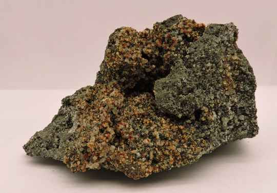 Nepheline, melilite and ?? from Germany - cabinet size