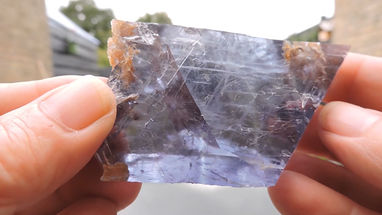 Fluorite from the  classic location  Seilles in Belgium, old find - cabinet size