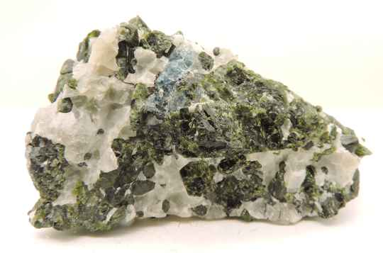 Diopside / coccolite from Norway - small cabinet size