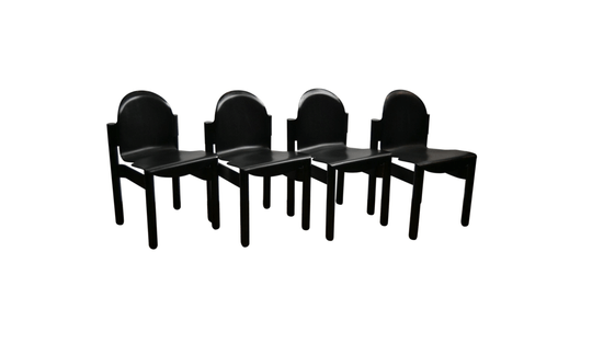 Set of 4 vintage Gerd Lange Thonet chairs (more pieces available)