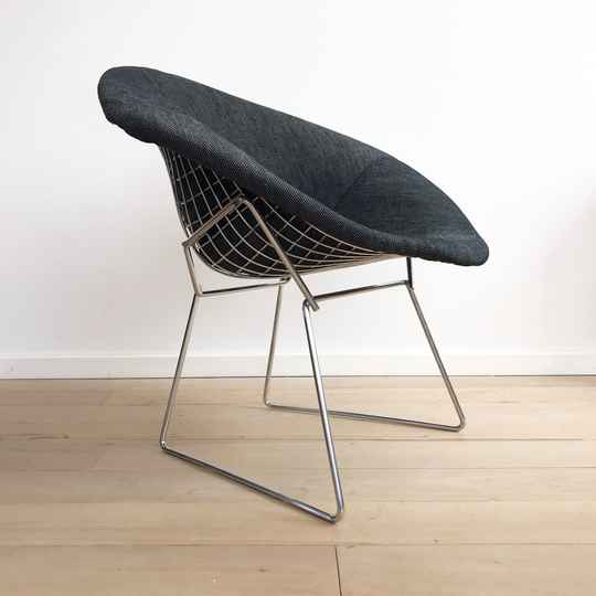 Diamond Chair 421 by Harry Bertoia for Knoll (1970's)