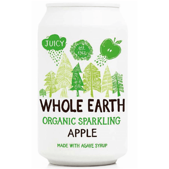 Whole Earth Sparkling Apple Drink 330ml