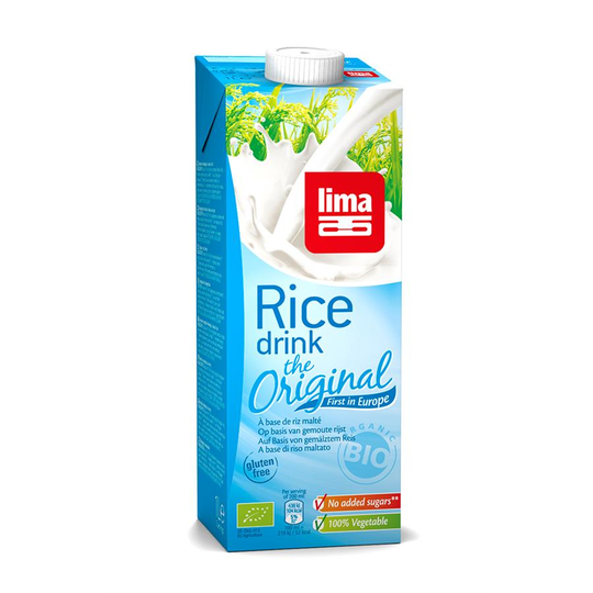 Lima rice drink original 1L