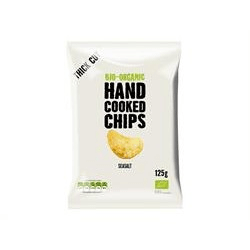 Hand cooked chips seasalt