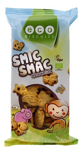 Eco Biscuits Smic Smac Chocolade