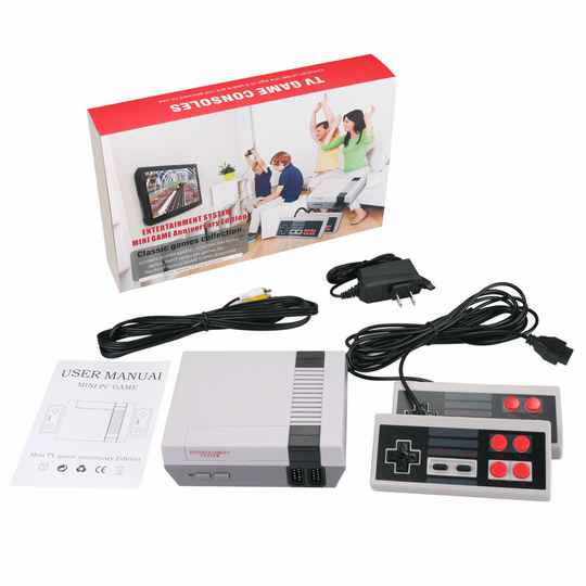 Retro Gaming Console - Special Edition AV - 600 Games met 2 controllers HOLM0597
