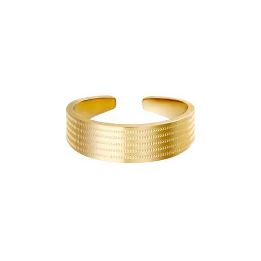 Ring For Real - Goud