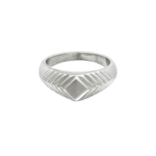 Ring Lydia Zilver