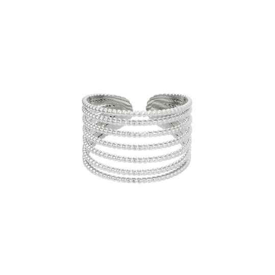 Ring Stack it up - Zilver