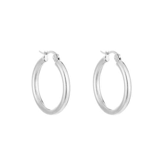 Classic Hoops - silver