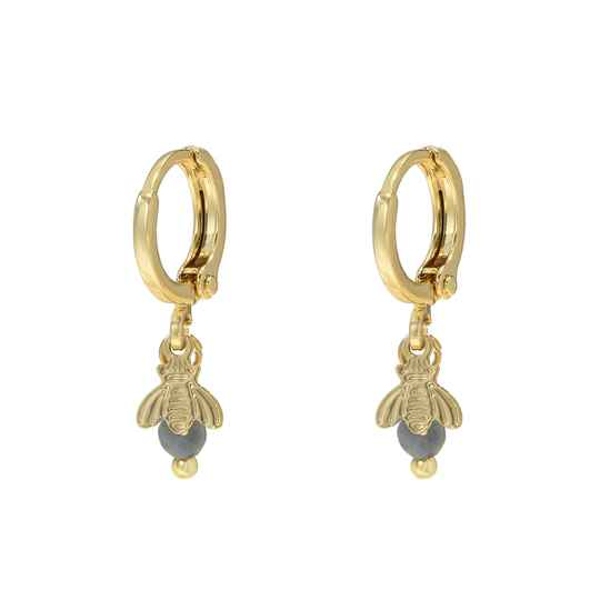 Bee Sweet Earrings - gold