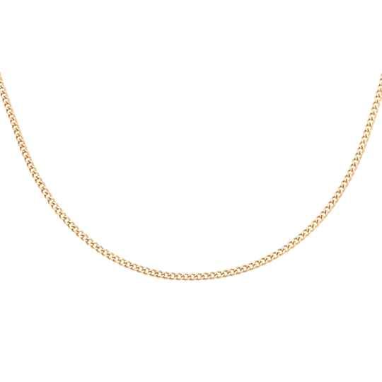 Tiny Chain Necklace - gold