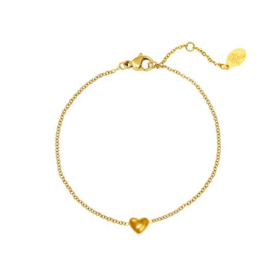 Little Heart Bracelet - gold