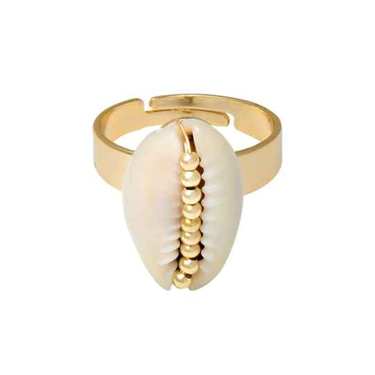 Shell Ring - gold