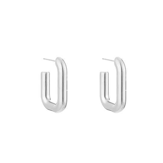 Glam Hoops - silver