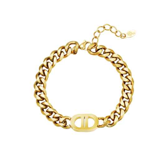 Inspired Chain Bracelet - gold