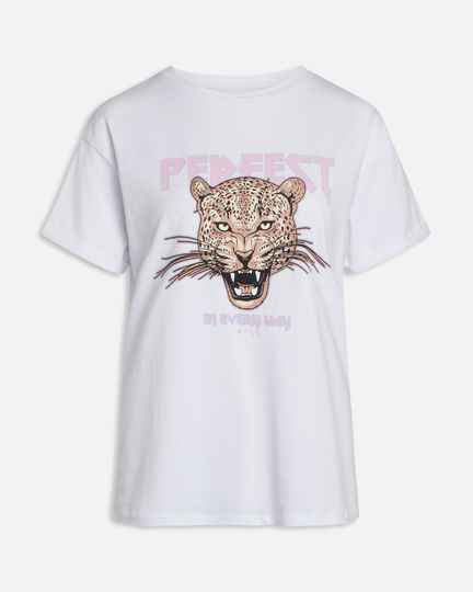 Nooa - Sisters Point T-shirt Perfect in Every Way White/Pink