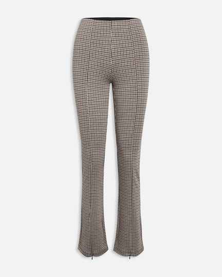 Nooa - Sisters Point Flared Pants Geruit