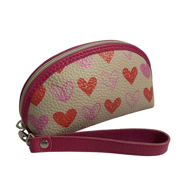 Isabel Heart Collection mini Clutch