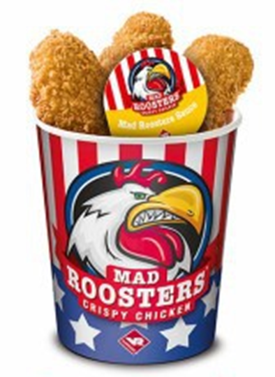 Crispy Chicken Mad Rooster