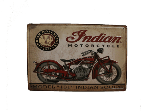 Indian Motor Cycle (3D)