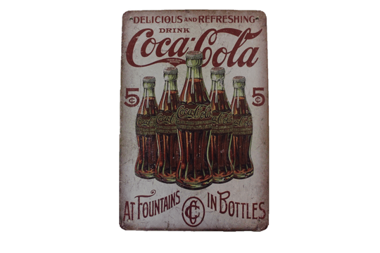 Coca Cola - Fountains in Bottles