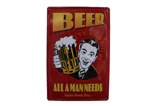 Beer - All a man needs (3D)