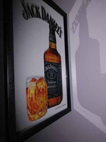 Jack Daniels Bottle spiegel