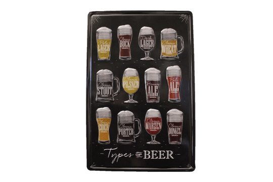 Types of Beers (3D)