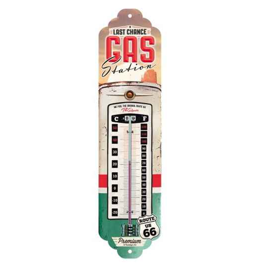 Gas Station Route 66 thermometer
