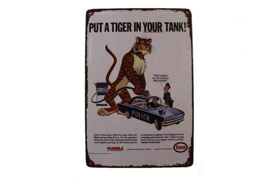Esso - Put a Tiger In Your Tank