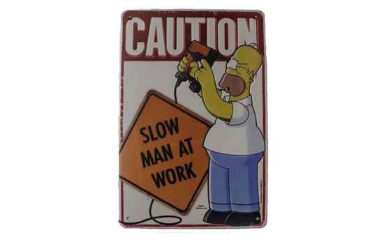 The Simpsons - Slow Men at Work