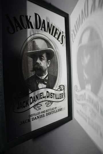 Jack Daniels Himself spiegel