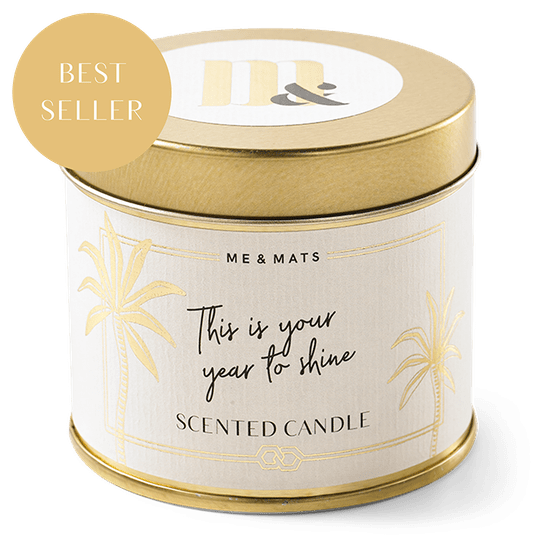 Tin scented candle - Time Shine