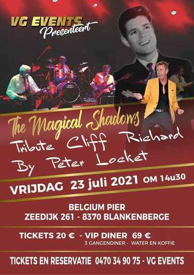 THE MAGICAL SHADOWS - TRIBUTE CLIFF RICHARD - OLDIES SHOW   23/07/2021