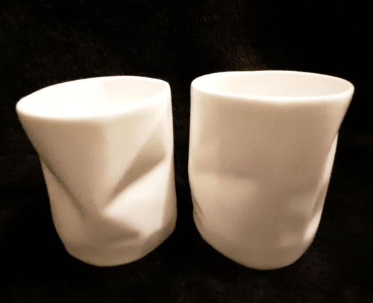 2 wrinkle cup's