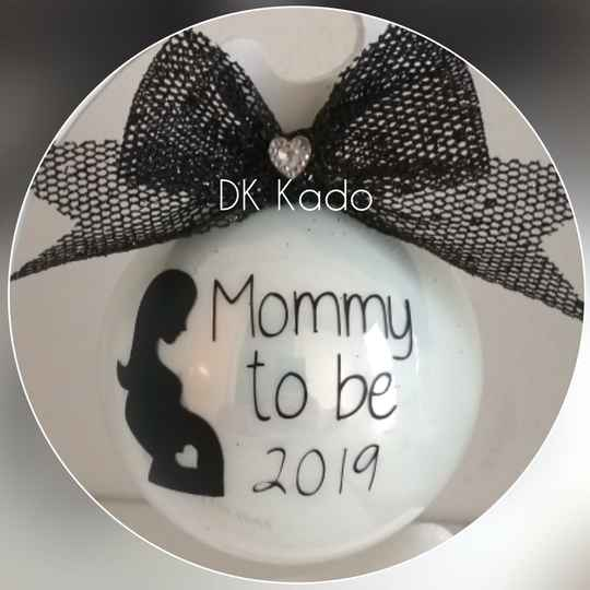 Kerstbal mommy to be