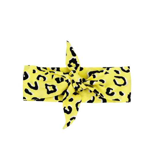 Haarband | Yellow Leopard