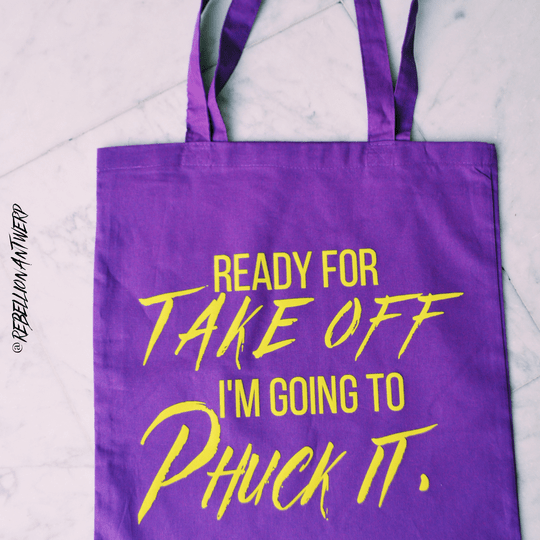 totebag : ready for take off
