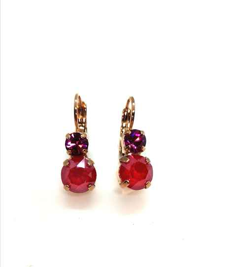 Nature / Firefly Earrings E-1190-2140-RG6
