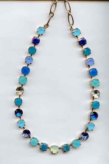 Silk Road / Zhang Necklace N-3252-1041-SP
