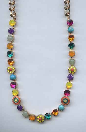 Africa / Masai Necklace N-3044/1-M1077-SP