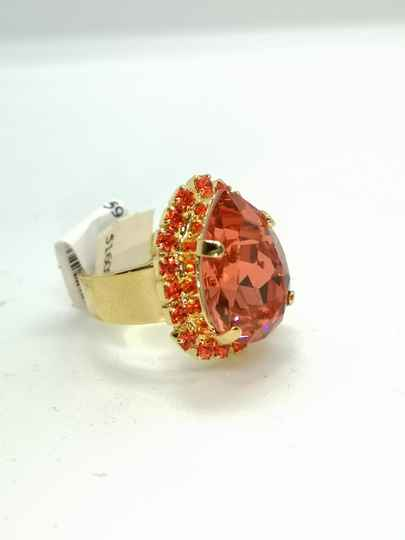 Silk Road / Saffron Ring R-7098-1047-YG