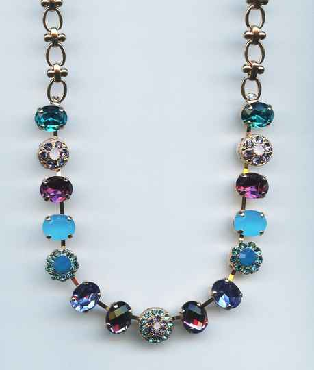 Nature / Peacock Necklace N-3416-2139-RG